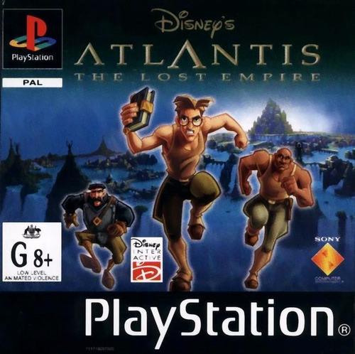 Disney's Atlantis: The Lost Empire for PlayStation (2001 ...