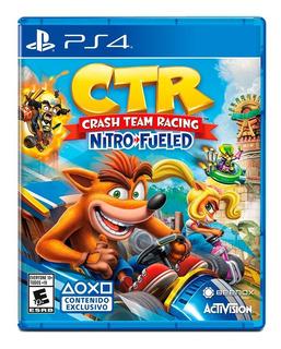 Crash Team Racing Nitro Fueled Ps4 Ctr Nuevo Fisico Original