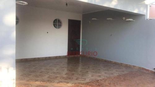 Imagem 1 de 10 de Casa À Venda, 185 M² Por R$ 420.000,00 - Parque Paulistano - Bauru/sp - Ca3269