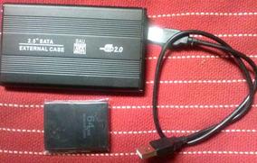 Hd 320 Gb Para Ps2 Mais Memory Card 64 Mb Com Opl