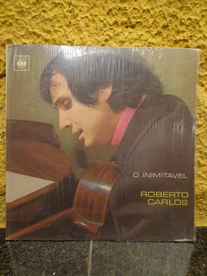 Antigo Vinil Roberto Carlos O Inimitavel - R 4753
