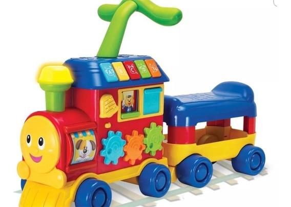 Andador Caminador Winfun Pata Pata Tren Sonidos 3 En 1 Cuota
