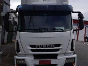 Iveco Tector 240e25 6x2 2011 Com Bau Plataforma Mb/volvo/vw