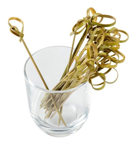 Pinchos De Bambú 9cm Pack X100u - Para Finger Food Catering