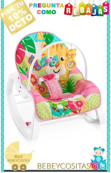 Silla Vibradora Fisher Price Modelo Jungle Pink