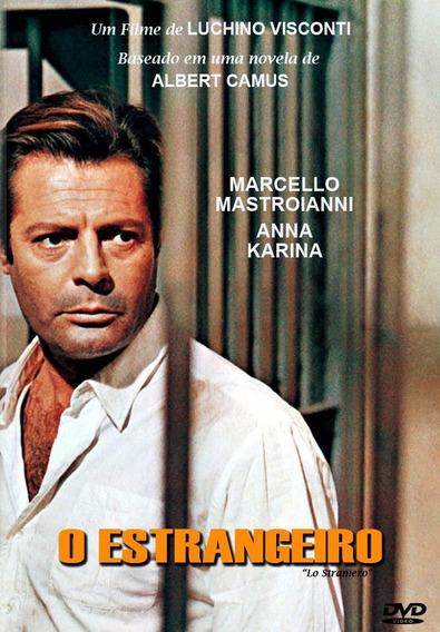 O Estrangeiro - Marcello Mastroianni - Dvd - Autorado