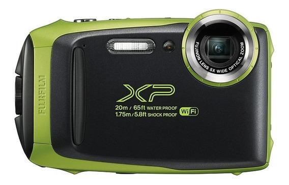 Cámara Fujifilm Xp130 Verde - Todo Terreno