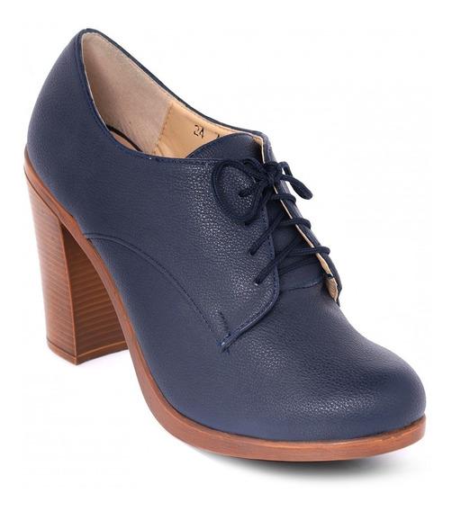 Bostoniano Mujer Dama Tacón Zapato Calzado Casual Elegante
