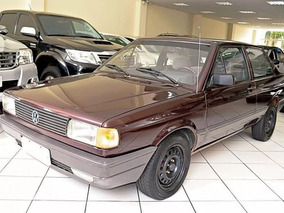 Volkswagen Voyage Gl 1.8 1993 Vinho Gasolina