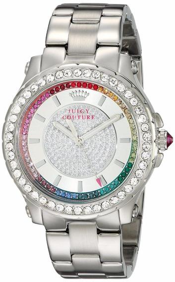 Reloj Juicy Couture Pedigree Crystal Acero Mujer 1901237