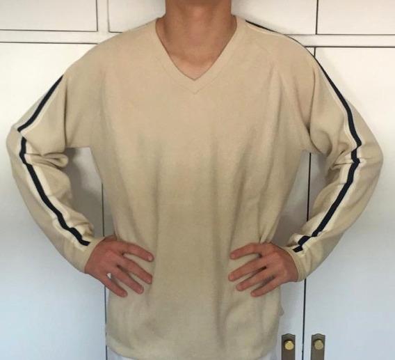 Sweater Gap De Hombre De Hilo Tejido Color Beige