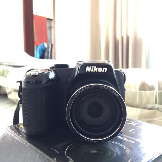 Nikon Coolpix L315 - Conservada - Pouco Usada