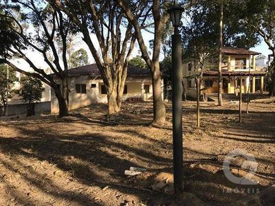 Terreno De 8.800m2 Com 3 Casas E Murado - Te0006