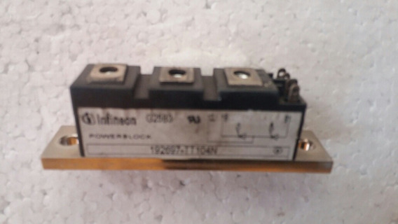 Modulo Tiristor Duplo Infineon 192697-tt104n
