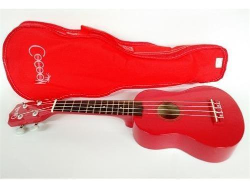 Cocoon Soprano Rojo Ku Bw R - Ukulele
