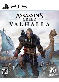Assassins Creed Valhalla Ps5 Fisico Nuevo Sellado Sevengamer