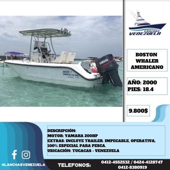 Lancha Boston Whaler Americano 18.4 Lv497