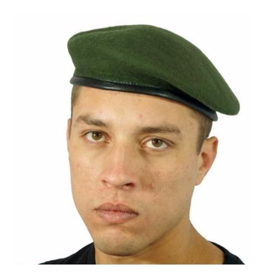 Boina Militar Francesa Verde Oliva Oficial