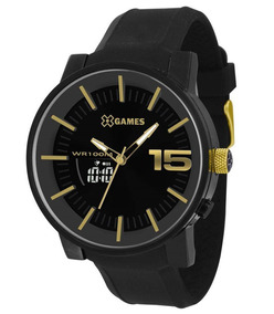 Relógio X Games Masculino Negativo Preto Xmspa022 P2px Top