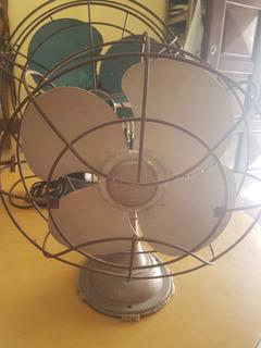 Ventilador Antiguo De Mesa. Vintage. Funciona.