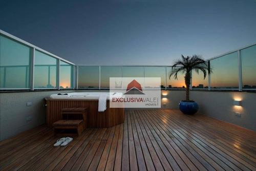 Apartamento Com 4 Dormitórios À Venda, 214 M² Por R$ 1.200.000,00 - Vila Betânia - São José Dos Campos/sp - Ap2892