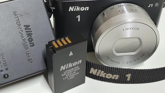 Nikon J1 Supernova Com 2850 Cliques Lente 10-30 - Baixei !