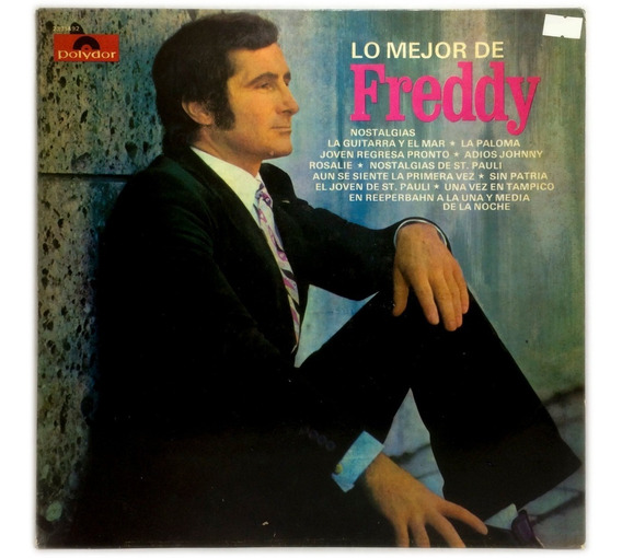 Vinilo Lo Mejor De Freddy Lo Mejor De Freddy Lp Argentina 74