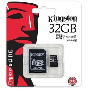 Cartão De Memória Micro Sd Kingston - 32gb - Classe 10
