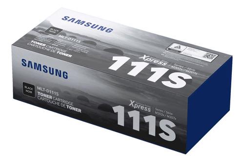 Cartucho De Tóner Samsung Mlt-d111s Negro