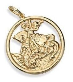 Rommanel Medalha Vazada Imagem De São Jorge 541256