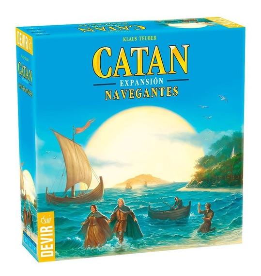 Juego De Mesa Catan Expansion Navegantes Proglobal