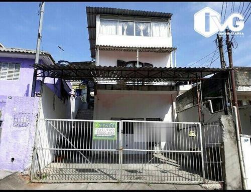 Imagem 1 de 23 de Sobrado À Venda, 300 M² Por R$ 535.000,00 - Jardim Dourado - Guarulhos/sp - So0327
