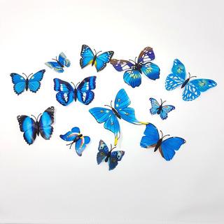 Pack Mariposas Decorativas 3d Decoracion P/ Decorar Pared