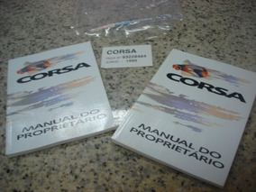 Manual Do Proprietário Corsa 1995 93228484 Novo