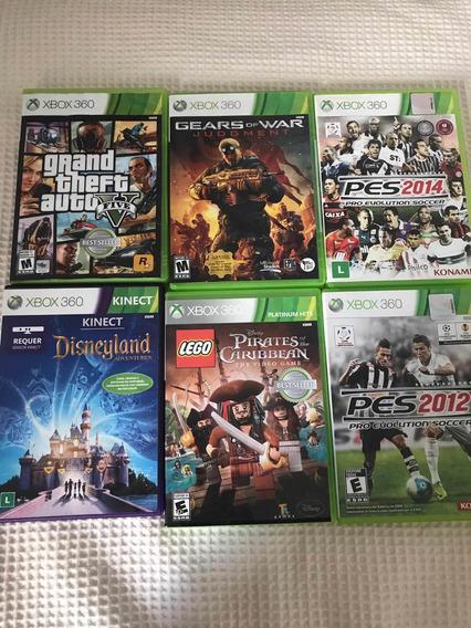 6 Jogos Originais Xbox 360