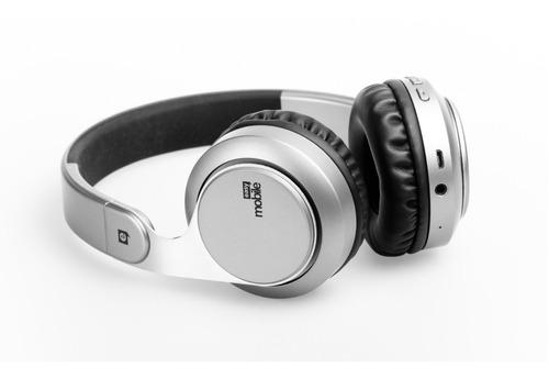 Headphone Bluetooth Breeze S1 Prata 14h De Autonomia