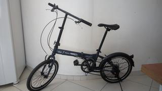 Bicicleta Dobrável Semi-nova Uber