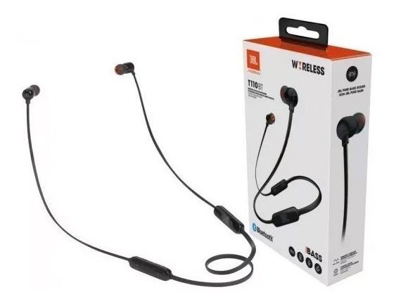 Fone De Ouvido Jbl Tune T110bt - Preto - Bluetooth + Nf