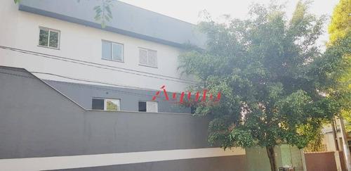 Apartamento Com 2 Dormitórios À Venda, 50 M² Por R$ 227.000 - Jardim Ana Maria - Santo André/sp - Ap1871