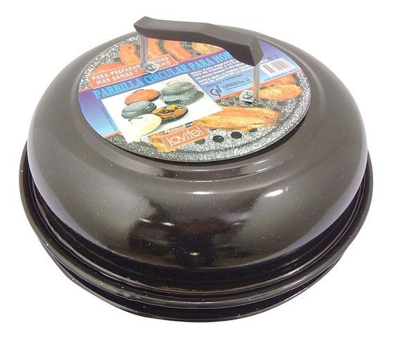 Parrilla Para Hornalla Circular Enlozada 30cm Jovifel Nº1