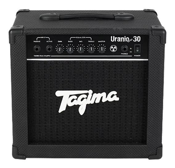 Cubo Amplificador Tagima Para Contra Baixo Uranio Bass 30w