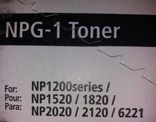 Toner Canon Npg 1 Original Np 1200 1520 1820 2020 2021 6221