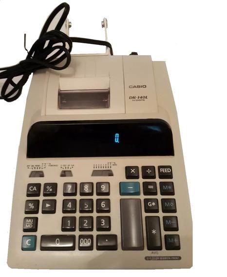 Calculadoras Sumadoras Casio Dr-140l 14 Dígitos. 2 Colores