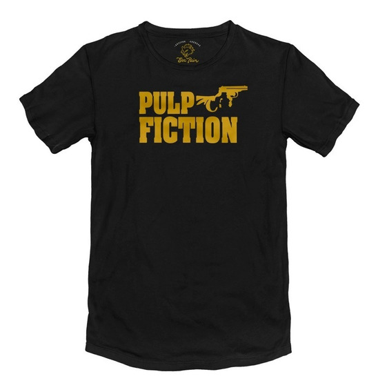 Remera Pulp Fiction Tarantino Algodón Peinado 24/1 Premium
