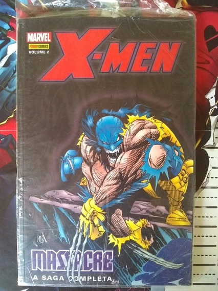 X-men Massacre Vol. 2 Panini