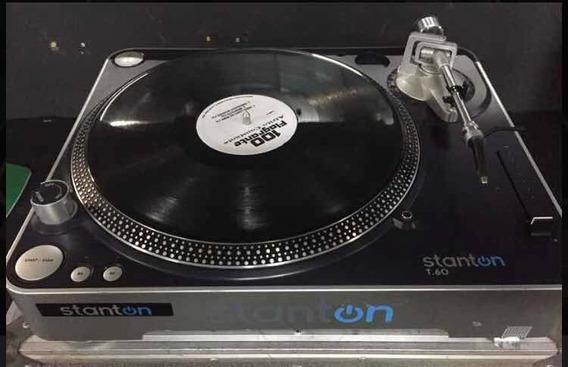 Toca Discos Stanton T60. Procuro Caixas Acústicas Technics.