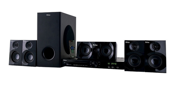 Home Theater Pht690 Entrada Usb Philco Bivolt