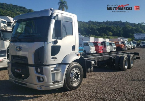Ford Cargo 2428 Cn - No Chassi
