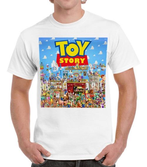 Envío Gratis Todos Los Personajes De Toy Story Playera Camis