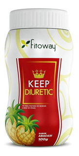 Keep Diuretic 100gr - Sabor Abacaxi (pó Para Bebida Funciona